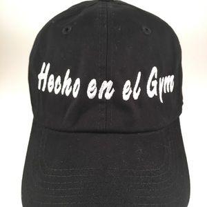 """Custom Hat """" Hecho en el Gym"""""""